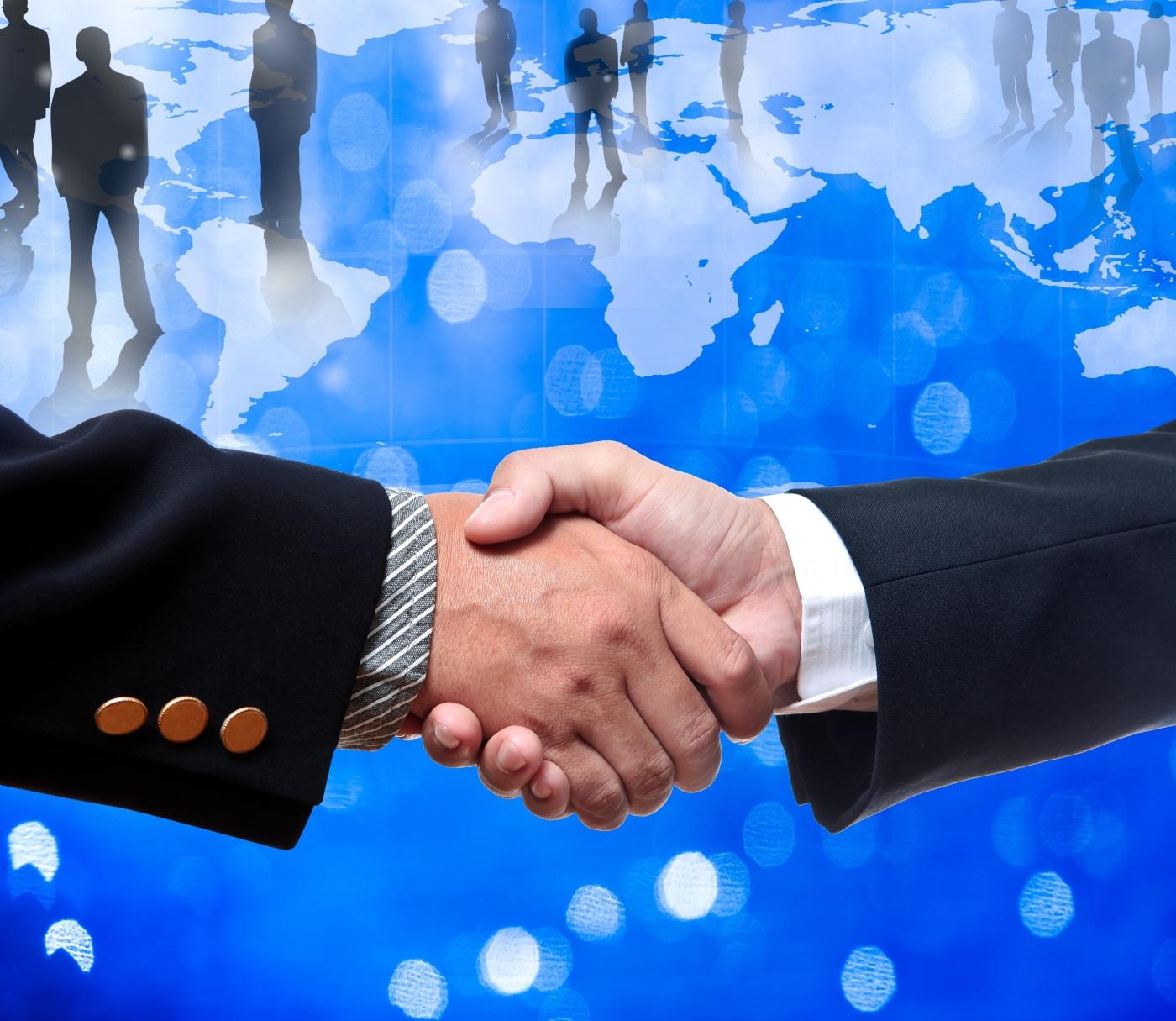 Handshake on a deal